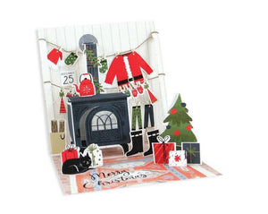 Cozy Christmas Pop Up Holiday Card