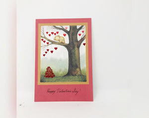 Teddy Bear Hearts Valentine's Day Card