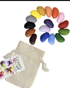 Crayon Rocks - 16 Colors