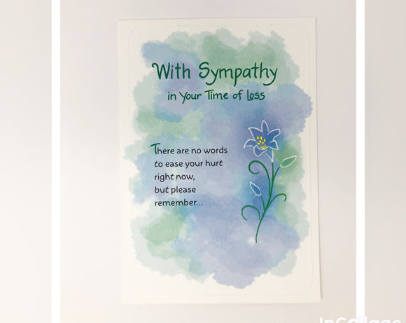 Card - With Sympathy In Your Time of Loss