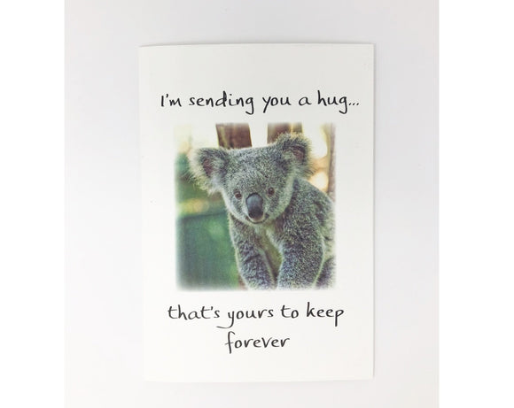 Card - I'm Sending You a Hug