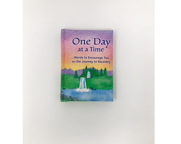 Blue Mountain Mini Book - One Day At A Time