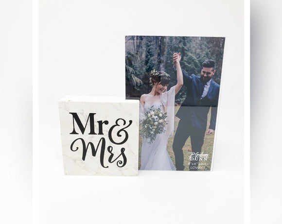Mr. & Mrs. Picture Frame
