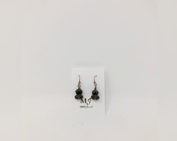 Smoky Earrings