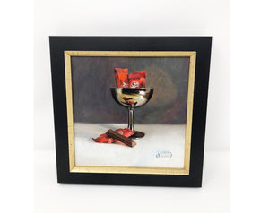 "Framed Art - ""Here Kitty Kitty"""