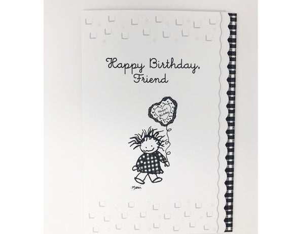 Card - Happy Birthday Friend