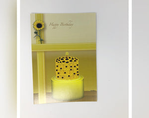 Card - Sunflower Cake
