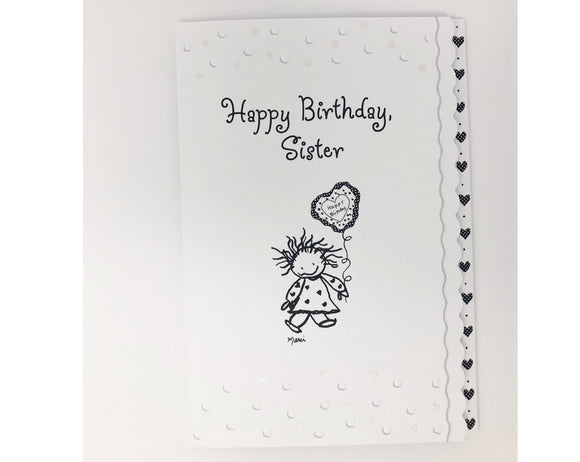 Card - Happy Birthday Sister