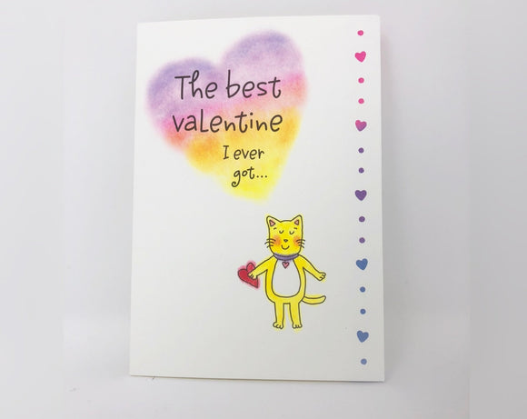 The Best Valentine I Ever Got - Valentine's Day Card