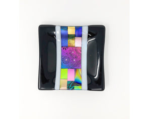 Tray - Dichroic Glass by Lohrding Design
