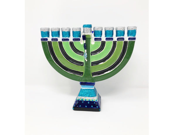 Menorah - Arabic Design