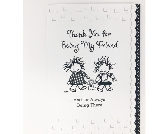 Card - Thank You for Being My Friend