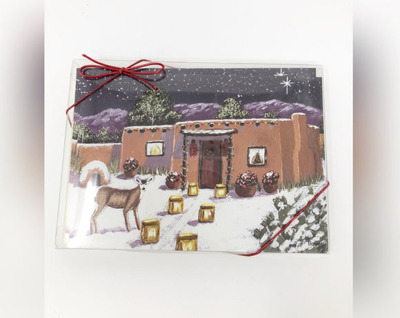 Boxed Holiday Cards-Christmas Eve Visitor