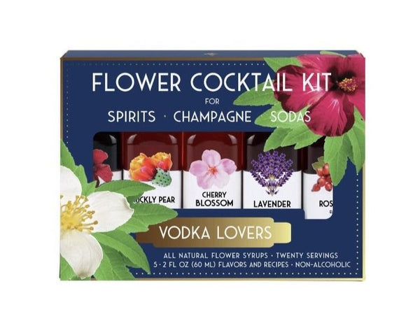 Flower Cocktail Kit (More Flavors Available)