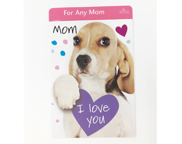 Card - Mother's Day - I Love You