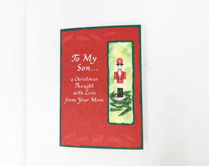 To My Son... Holiday Card