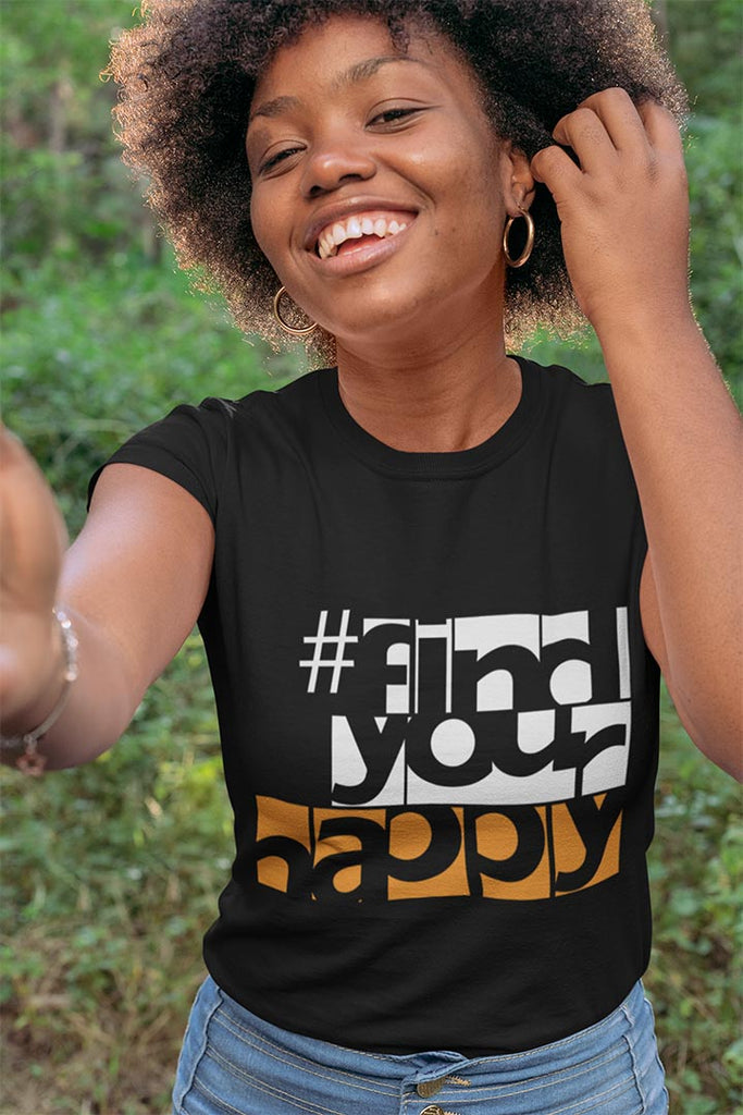 #FindYourHappy - The Happy Channel® T-Shirt