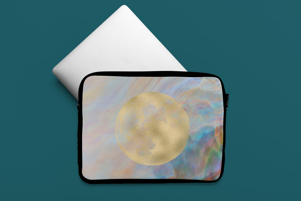 Full Moon Journey Laptop Case Mockup