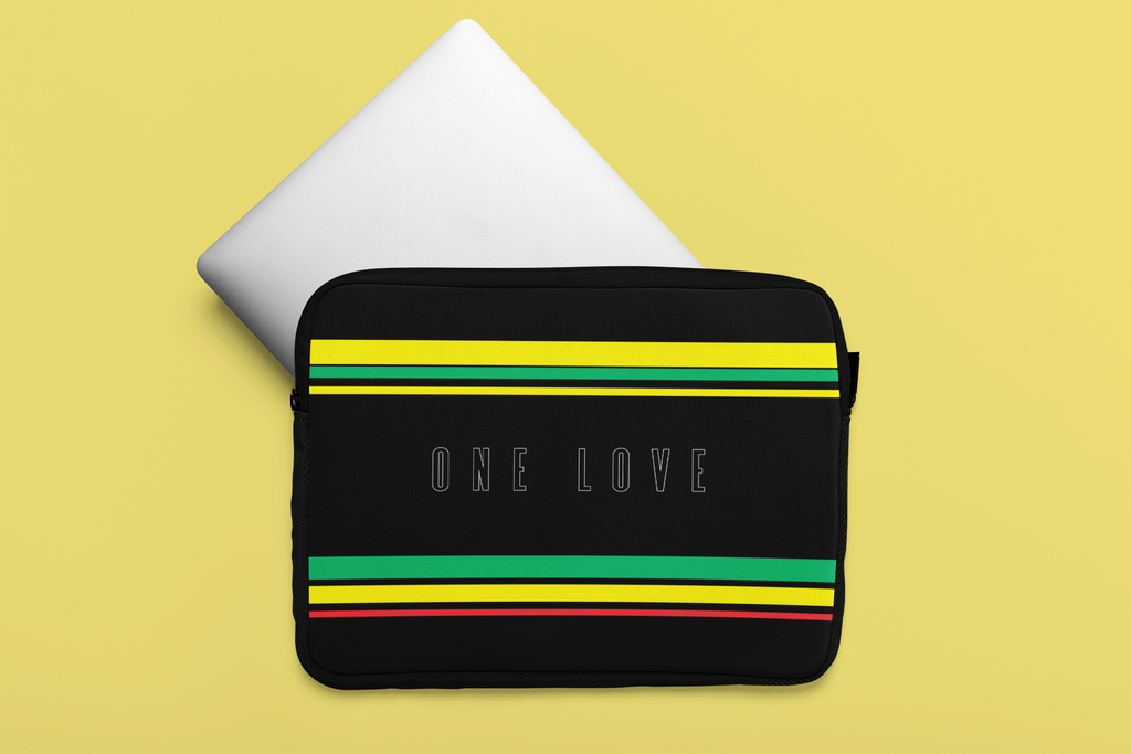 One Love Laptop Sleeve