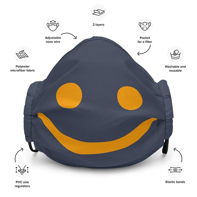 The Happy Channel® Smile Face Mask Features Description