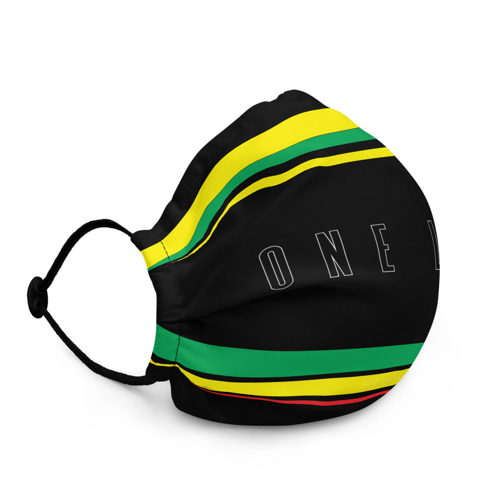 One Love for Jamaica Face Mask