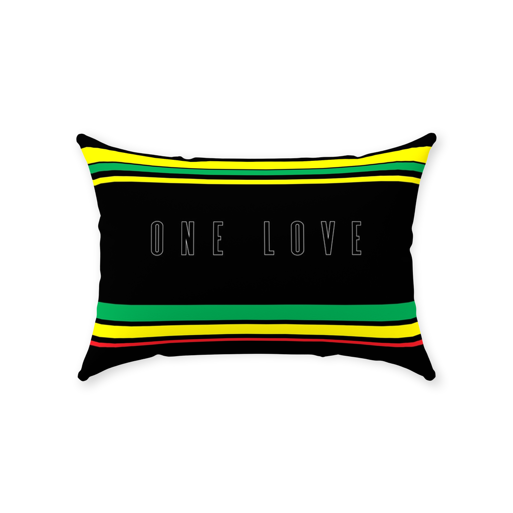 ONE LOVE DECORATIVE PILLOW