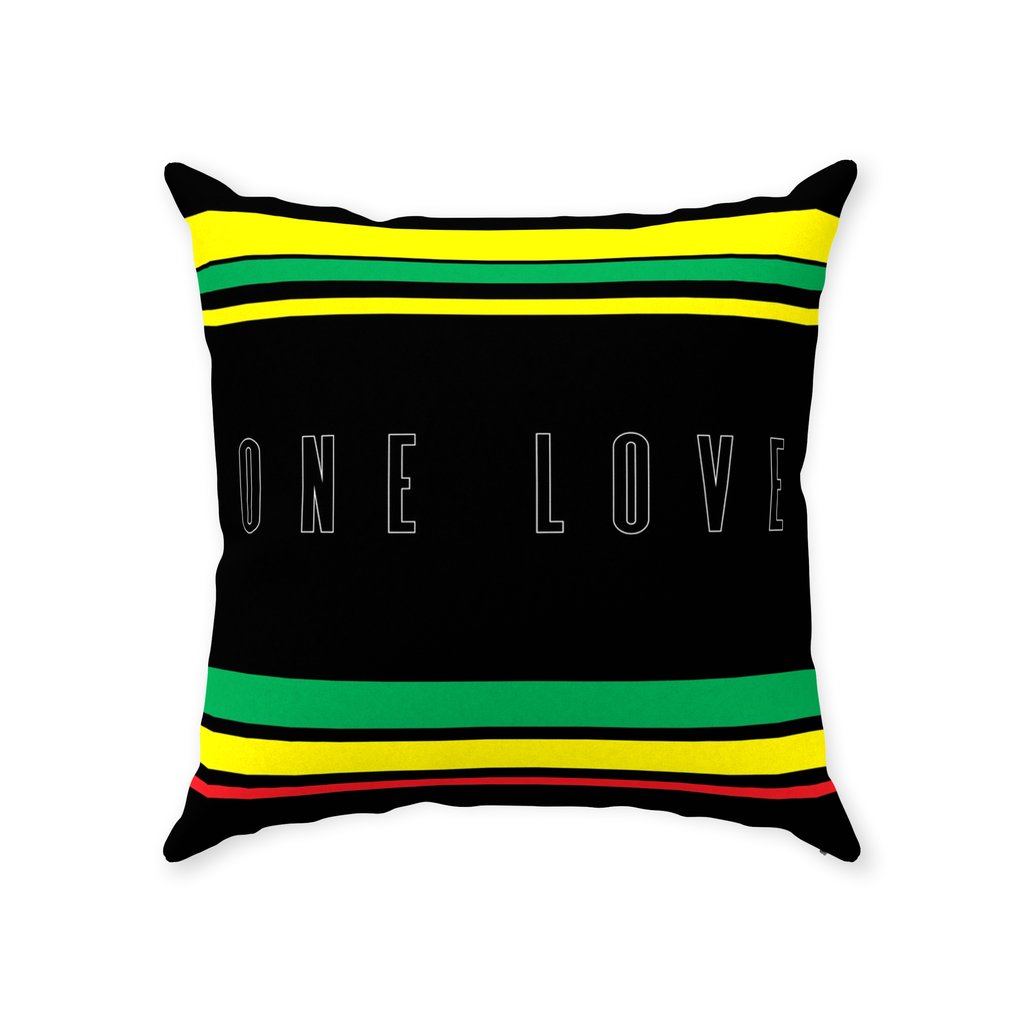 ONE LOVE SQUARE PILLOW