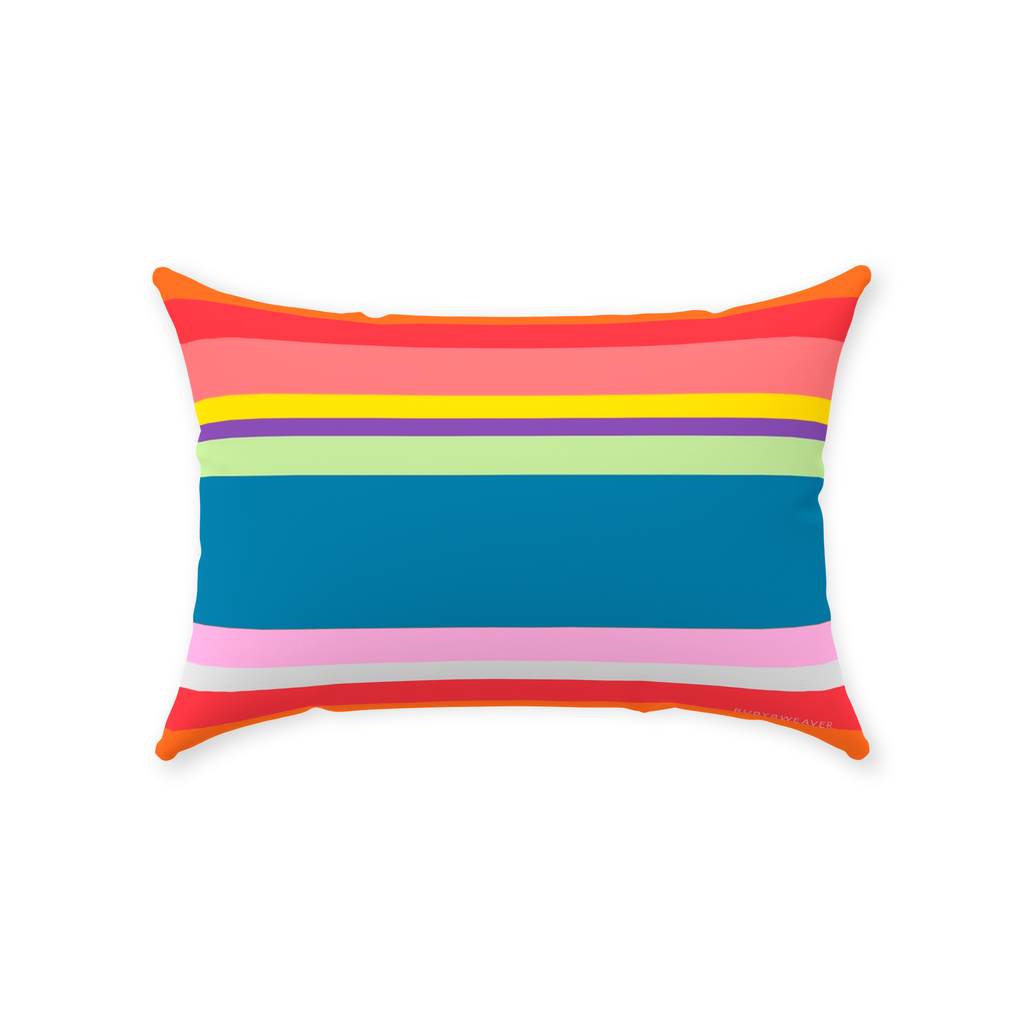 Vibrant Colors 14x20 Decorative Pillow