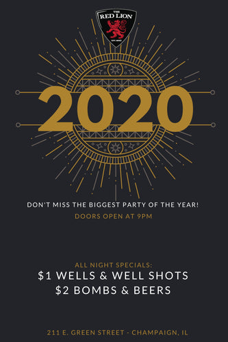 Red Lion New Years Eve 2020
