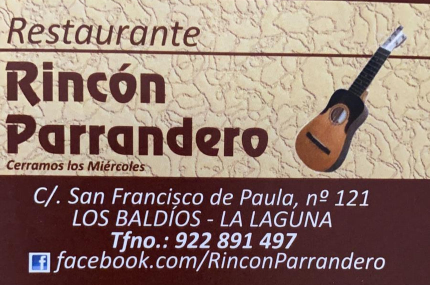 Rincón Parrandero (38291) - Ticket Regalo