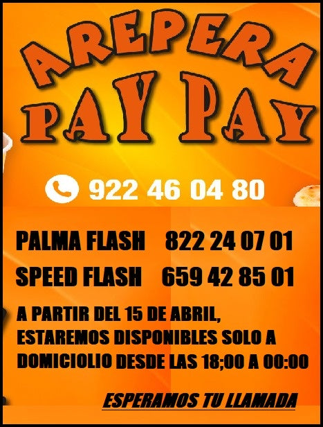 Arepera paypay (38760) - Ticket Regalo
