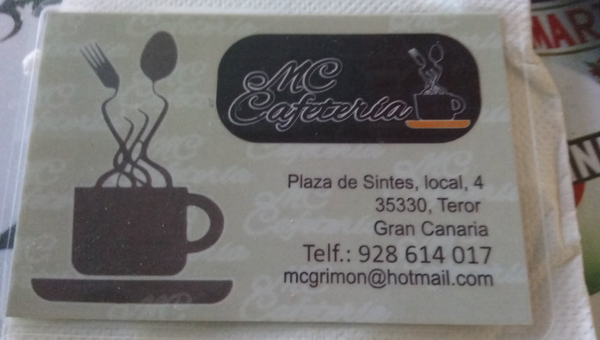 MC CAFETERIA REST (35330) - Ticket Regalo