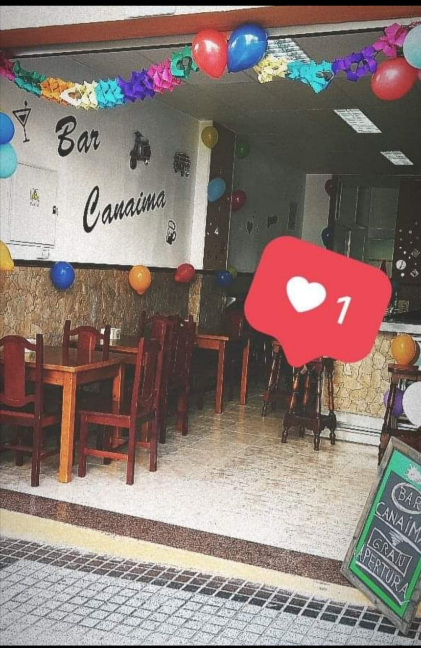 BAR CANAIMA (35011) - Ticket Regalo