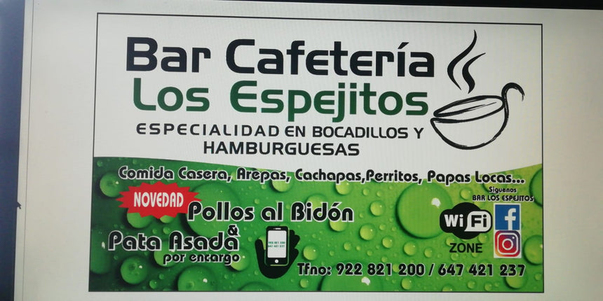 Bar Cafeteria Los Espejitos (38108) - Ticket Regalo