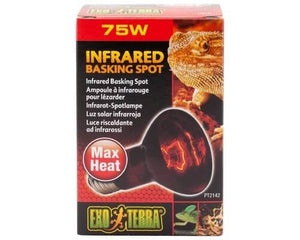Exo Terra Heat Glo Infrared Heat Lamp - 75 Watt