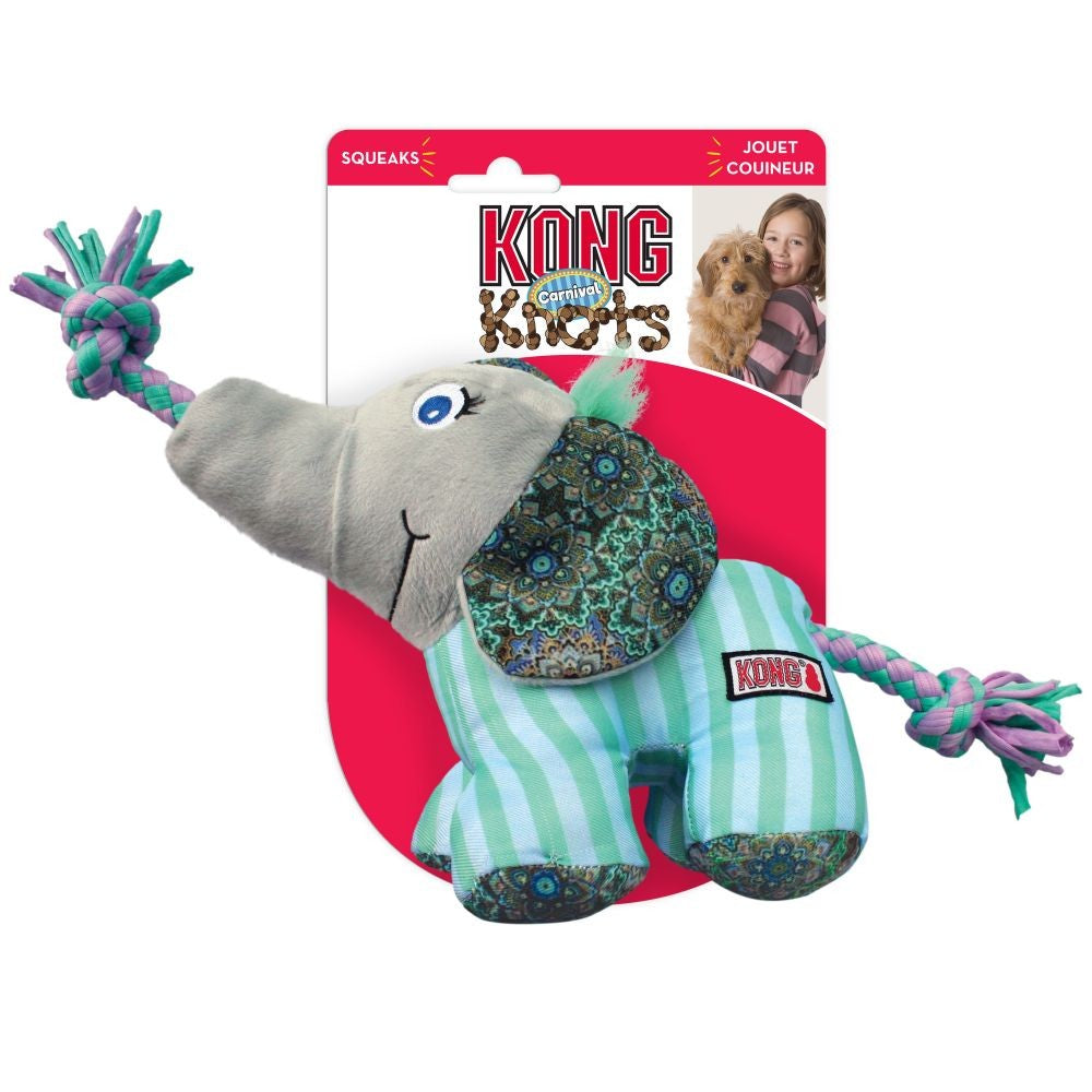 KONG KNOTS CARNIVAL ELEPHANT LARGE