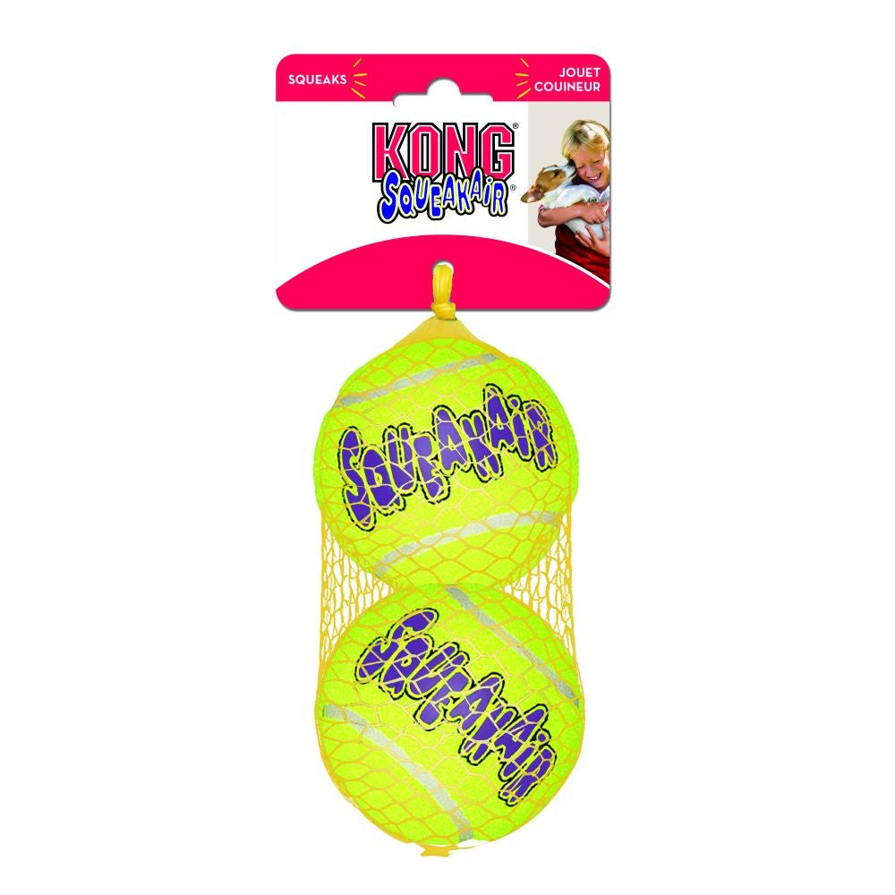 KONG AIR DOG TENNIS BALL MED 2PK