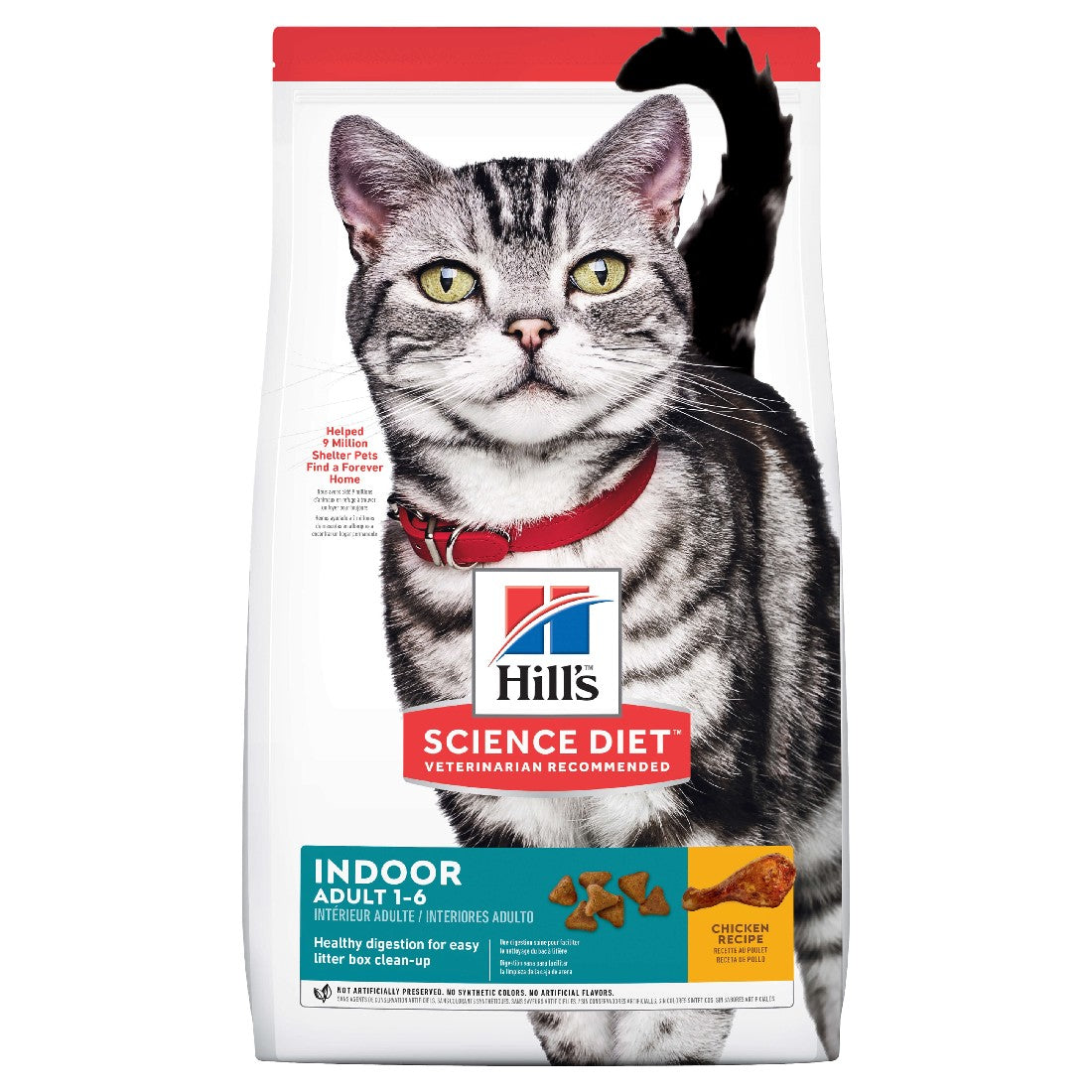 HILLS SCIENCE DIET CAT ADULT INDOOR 4KG