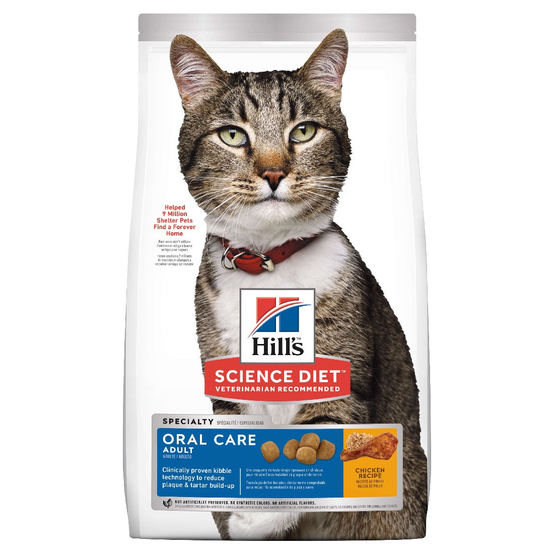 HILLS SCIENCE DIET CAT ORAL CARE 4KG