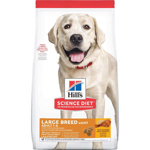 HILLS SCIENCE DIET DOG LIGHT LARGE BREED