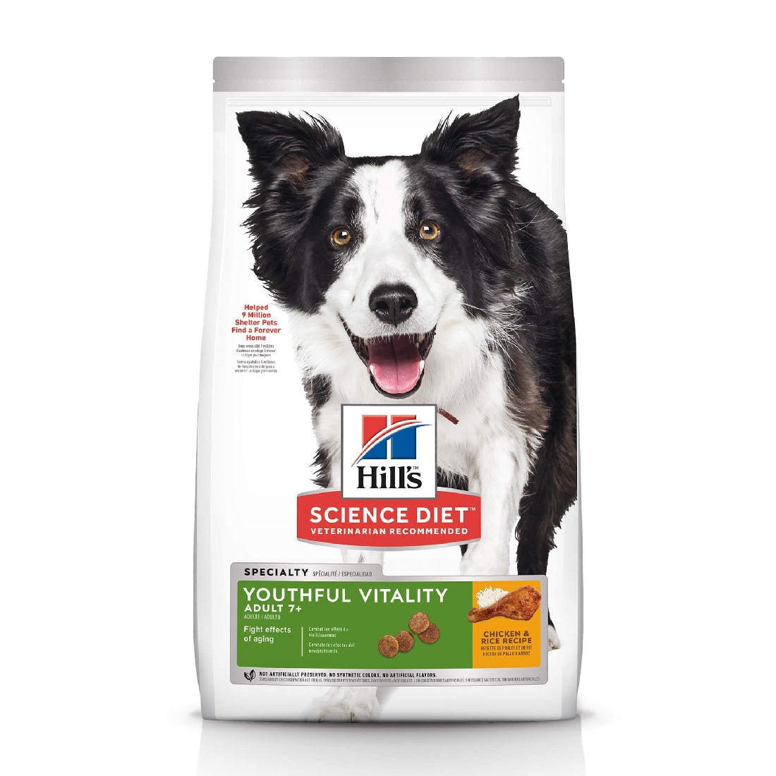 HILLS SCIENCE DIET DOG YOUTHFUL VITALITY 1.5KG