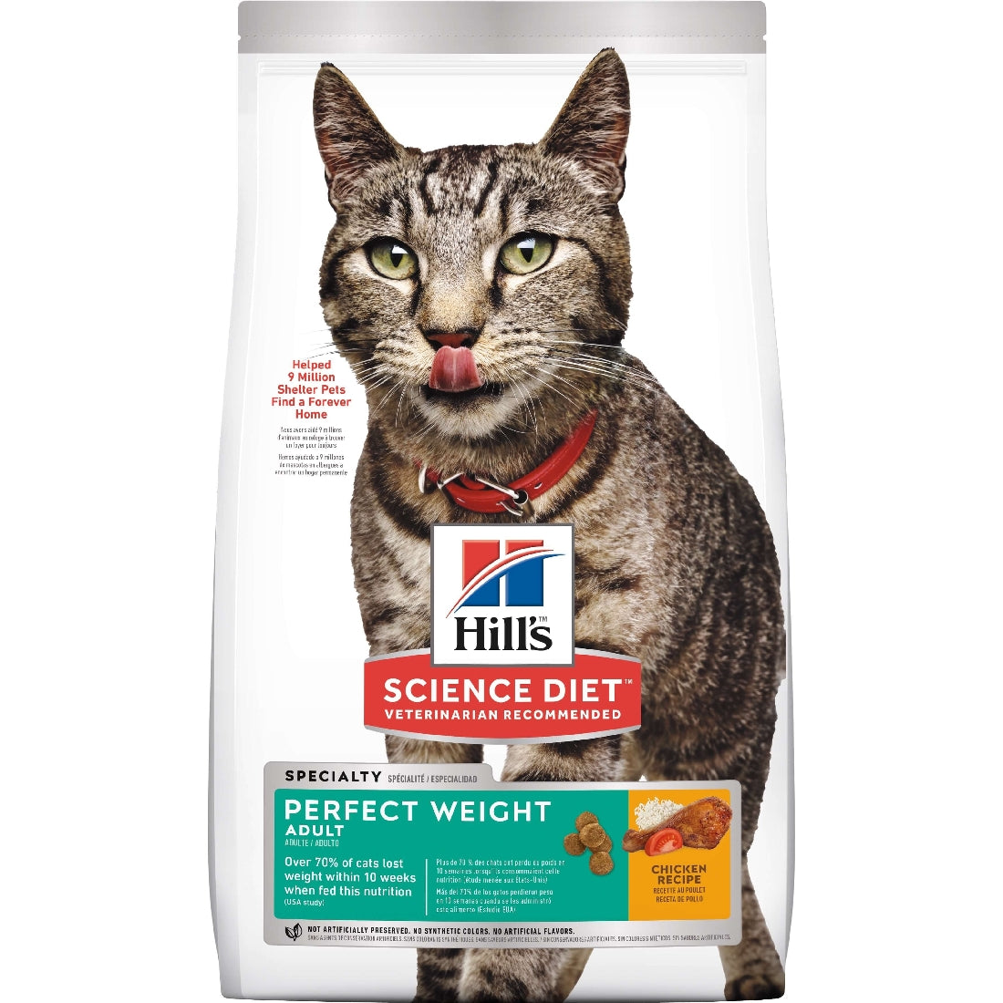 HILLS SCIENCE DIET CAT PERFECT WEIGHT 3.17KG