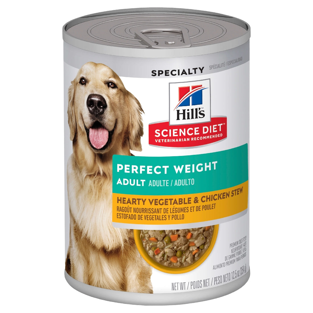 HILLS SCIENCE DIET PERFECT WEIGHT CAN 354G