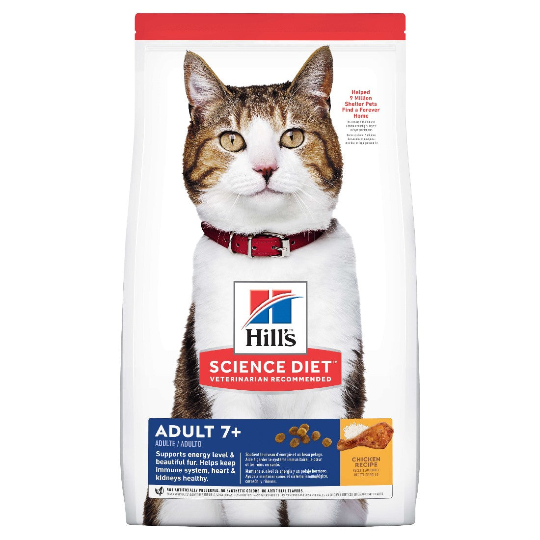 HILLS SCIENCE DIET CAT SENIOR 7+ 3KG