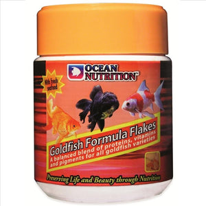 OCEAN NUTRITION GOLDFISH FLAKES 34G