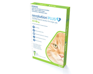 REVOLUTION PLUS CAT 5-10KG 3PACK