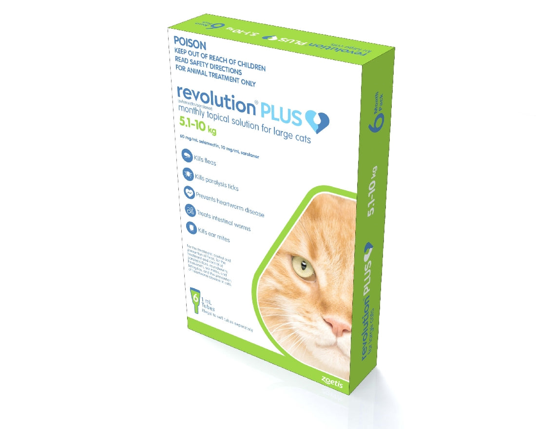REVOLUTION PLUS CAT 5-10KG 6PACK