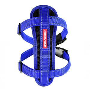 EZY DOG CHEST PLATE HARNESS BLUE X-SMALL