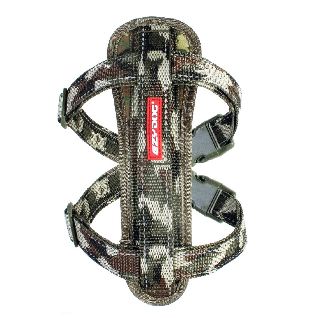 EZY DOG CHEST PLATE HARNESS CAMO X-LARGE