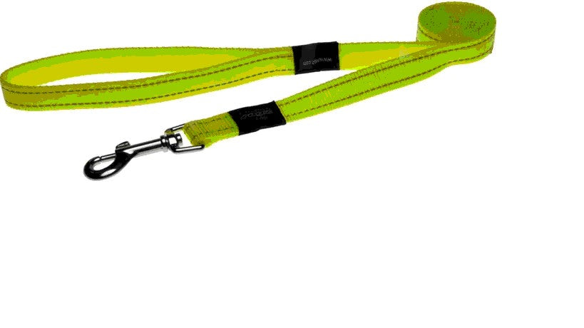 Rogz Lead Snake/Medium Yellow